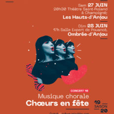 Affiche CRAAB Concert N°10 Choeurs en fête