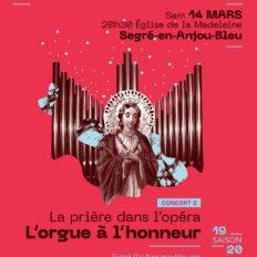 Affiche CRAAB Concert N°3 L'orgue à l'honneur
