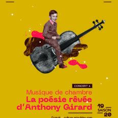 Affiche CRAAB Concert N°4 La poésie rêvée d'Anthony Girard