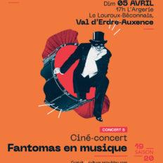 Affiche CRAAB Concert N┬░5 Fantomas en musique
