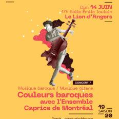 Affiche CRAAB Concert N┬░7 Couleurs baroques