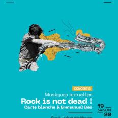 Affiche CRAAB Concert N┬░8 Rock is not dead