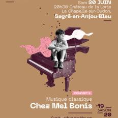 Affiche CRAAB Concert N┬░9 Chez Mel Bonis
