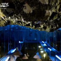 La Mine bleue - A 126 mètres sous terre